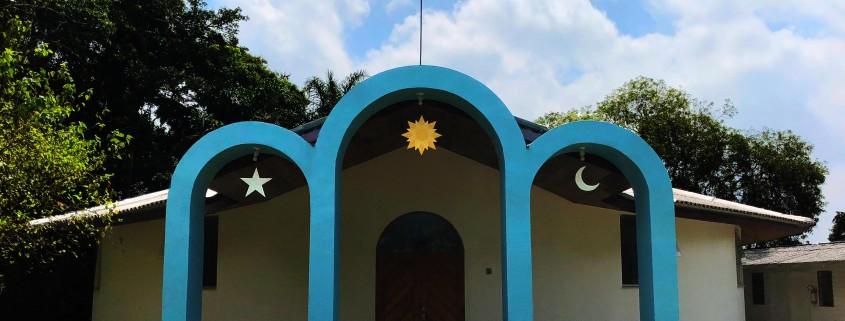 Fachada do Núcleo São João Batista