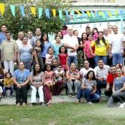 Irmandade reunida para assistir uma palestra sobre Casamento, 2018 | DMC/Luz do Norte