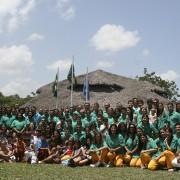 Irmandade reunida em 10 de Fevereiro 2008. | Foto: DMC-Núcleo Flor Divina