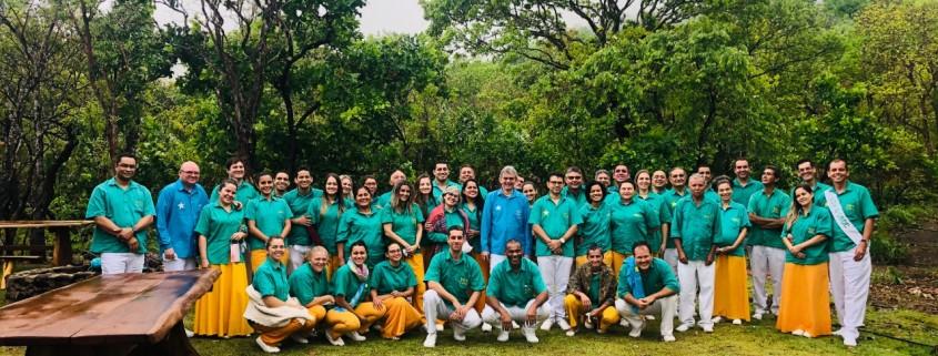 Mestre Carlos Martins, M. Renisson e irmandade, 2021 | DMC/Núcleo Caminho Firme